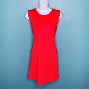 🆕 H&M Fitted Red Dress